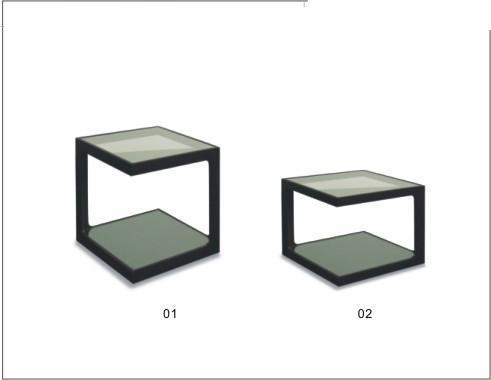Azul company mesas for Mesas para esquinas